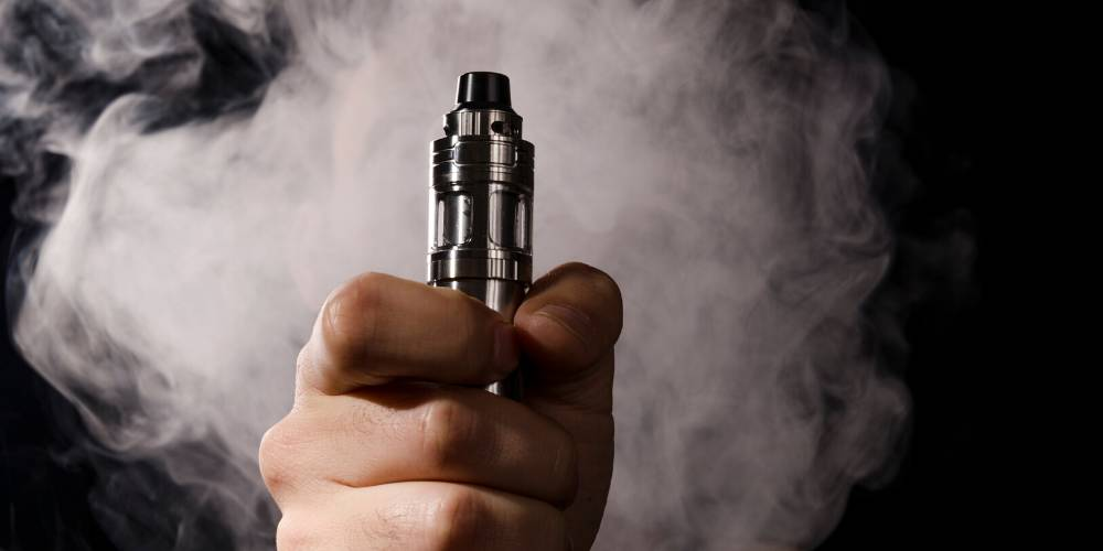 Vaping mit E-Zigarette