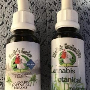 Liquid mit CBD für E-Zigarette von Merlin's Garden