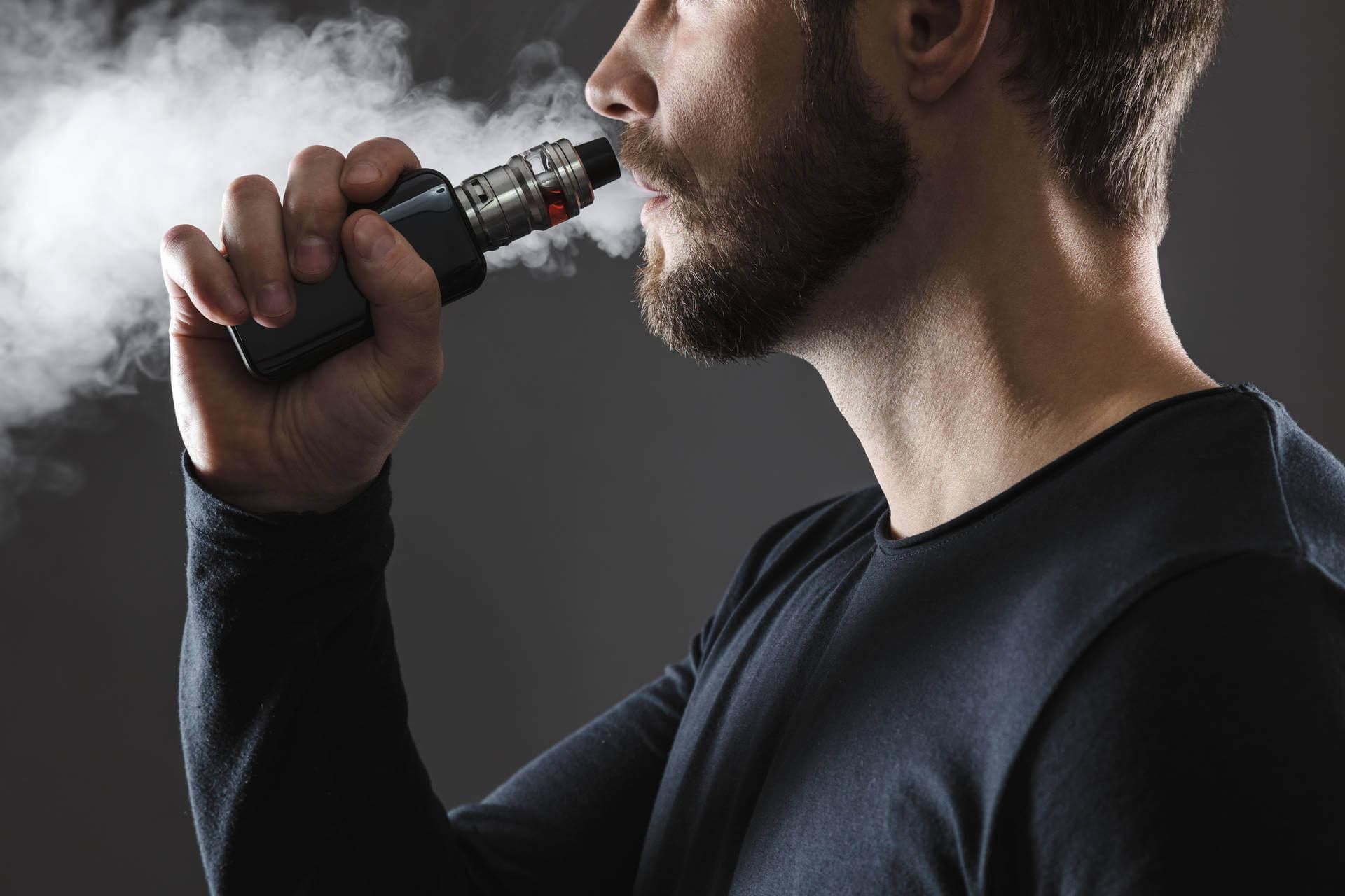 Zugtechnik bei der E-Zigarette