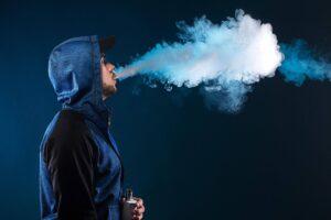 Dichter Dampf mit der E-Zigarette
