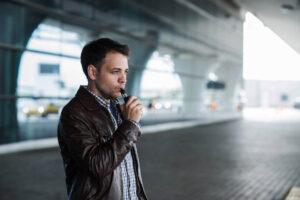 E-Zigarette im Flugzeug