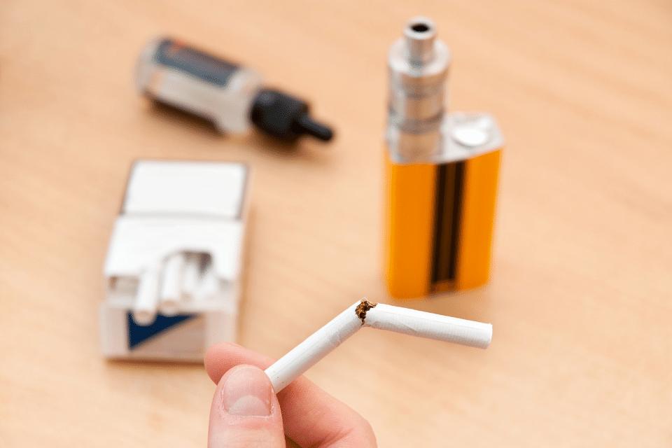 Umsteigerhilfe Rauchen stoppen umstieg zu e-zigarette