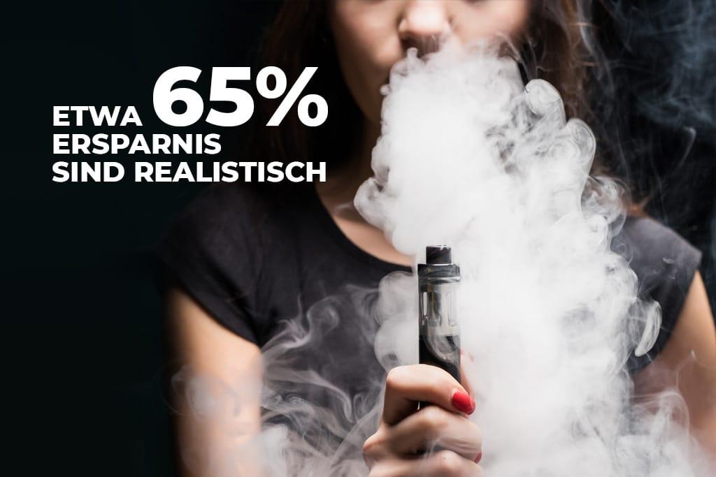 Die Kosten der elektrischen Zigarette