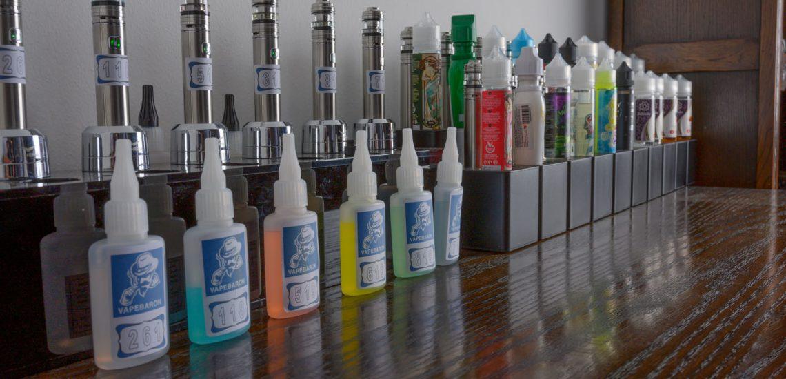 Liquid für E-Zigarette Shop